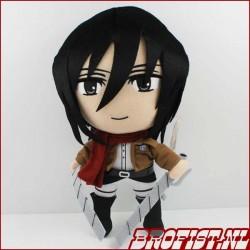 Attack on Titan Mikasa plushie