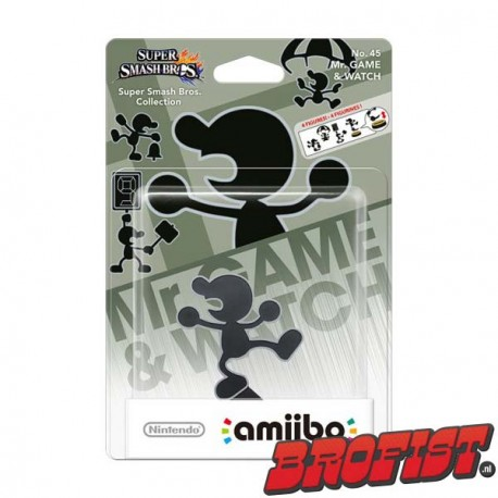amiibo Smash Series: Mr. Game & Watch