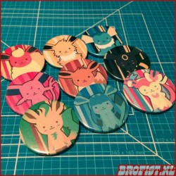 Eeveelution buttons
