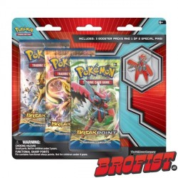 Pokémon TCG: BREAK Point 3 Blisterpack + Mega Scizor Pin
