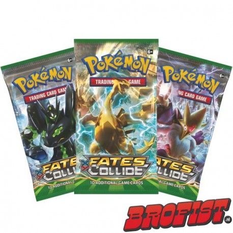 Pokémon TCG: Fates Collide Boosterpack