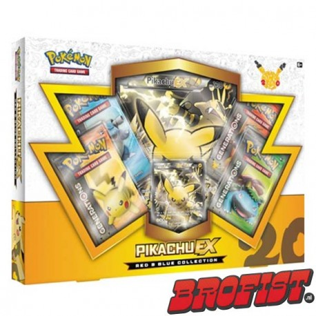 [PRE ORDER] Pokémon TCG Red & Blue Collection: Pikachu EX