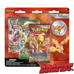Pokémon TCG: Collector's Pin 3 Blisterpack - Moltres