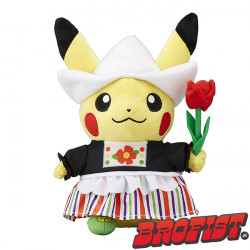 Pikachu Celebrations: Dutch Poké plush [IMPORT]