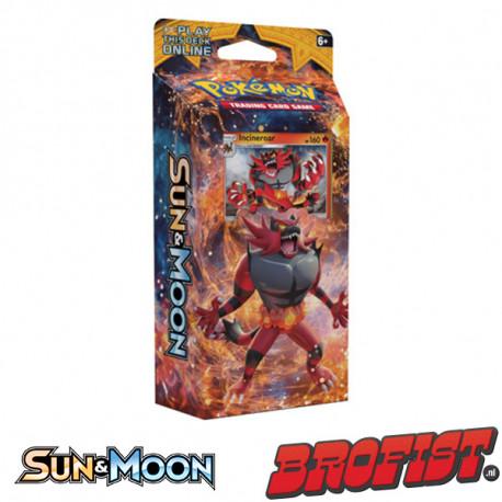 Pokémon TCG: Sun & Moon Theme Deck - Incineroar