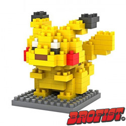 Pikachu Microblock LOZ building blocks