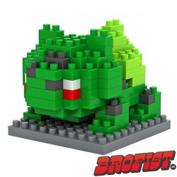 Bulbasaur Microblock LOZ bouwsteentjes