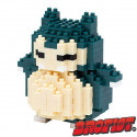 Snorlax Microblock LOZ building blocks