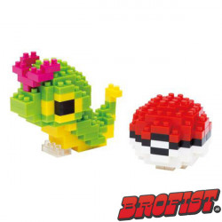 Caterpie Microblock LOZ building blocks
