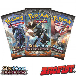 SM3 Burning Shadows Boosterpack Pokémon TCG