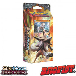 SM3 Burning Shadows Theme Deck Lycanroc Pokémon TCG