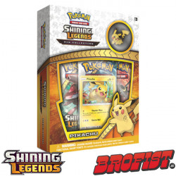 Shining Legends Pikachu Pin Collection Pokémon TCG