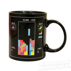 Tetris heat changing Mug