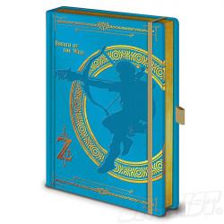 Legend of Zelda Premium Notebook A5 Breath of the Wild