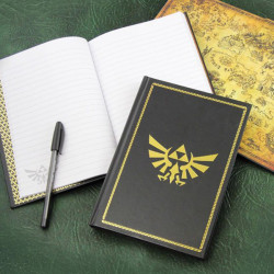 Legend of Zelda Notebook Hyrule Wingcrest