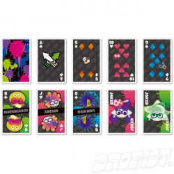 Splatoon Speelkaarten set 01: Standard [IMPORT]
