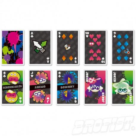 Splatoon Playing Cards set 01: Standard [IMPORT]