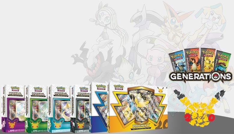 Pokemon 20 jaar - Mew Mythical Pokémon Collection