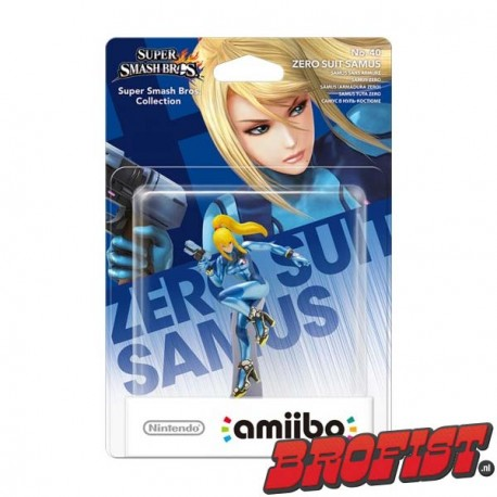 amiibo Smash Series: Zero Suit Samus