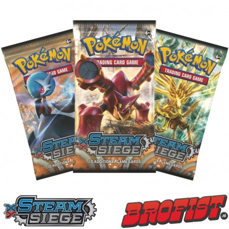 Pokémon TCG: Steam Siege Boosterpack