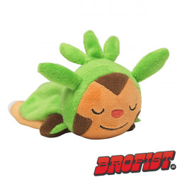 Kuttari Cutie sleeping Chespin plush