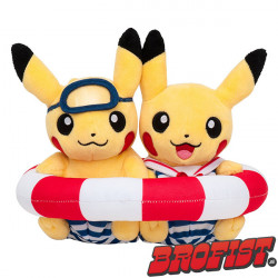 Pikachu Celebrations: Swim Duo Poké plush knuffel [IMPORT]