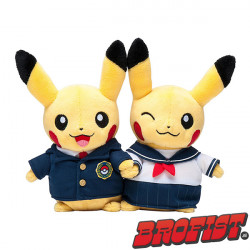 Pikachu Celebrations: School Duo Poké plush knuffel [IMPORT]