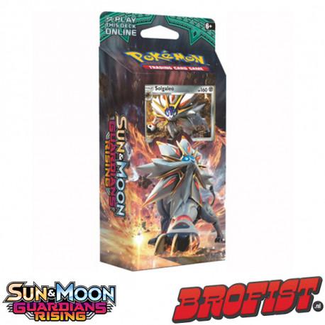 SM2 Guardians Rising Theme Deck Solgaleo Pokémon TCG