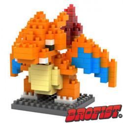 Charizard Microblock LOZ building blocks