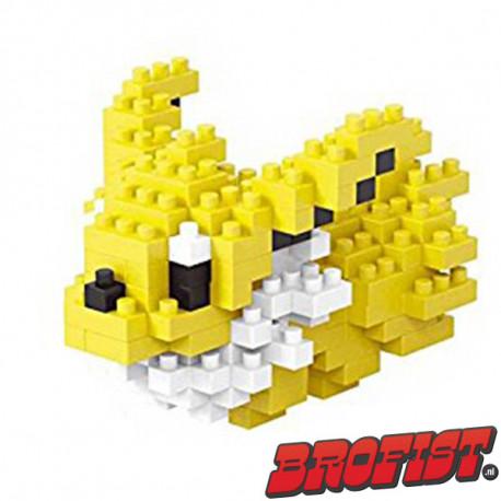 Jolteon Microblock LOZ building blocks