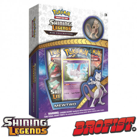 Shining Legends Mewtwo Pin Collection Pokémon TCG