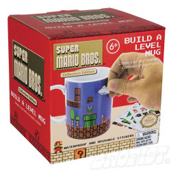 Super Mario Bros. Build-A-Level Mug