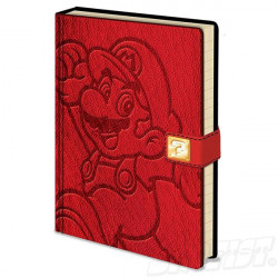 Super Mario Premium Notebook A5 Jump