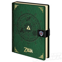 Legend of Zelda Premium Notebook A5 Triforce