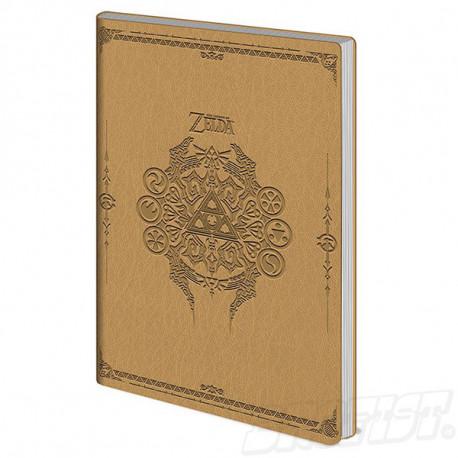The Legend Of Zelda Flexi-Cover Notebook A5 Sage Symbols