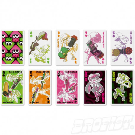Splatoon Playing Cards set 02: Buki [IMPORT]