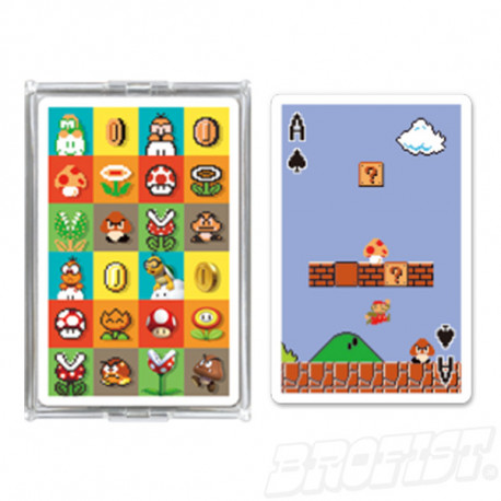 Super Mario Playing Cards set NAP-04: Game Stage [IMPORT]