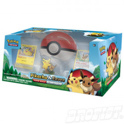 Pokémon TCG: Poké Ball Pikachu & Eevee Collection Box