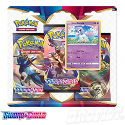 Pokémon TCG: Sword & Shield 3-Booster Blister