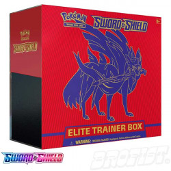 Pokémon TCG: Sword & Shield Elite Trainer Box Zacian
