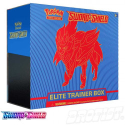 Pokémon TCG: Sword & Shield Elite Trainer Box Zamazenta