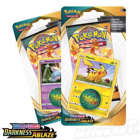 Pokémon TCG: Darkness Ablaze Checklane Blister