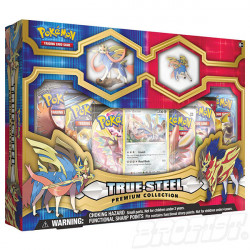 Pokémon TCG: True Steel Premium Figure + Pin Collection - Zacian
