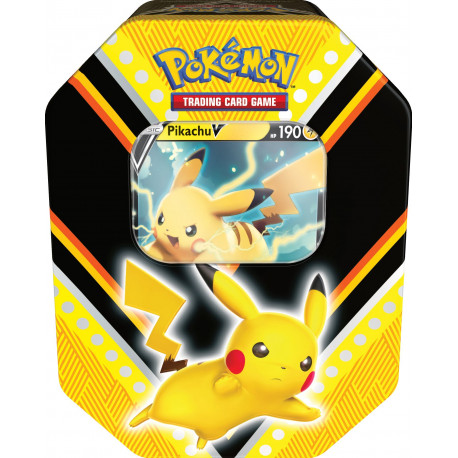V Powers Tin Pikachu - Pokémon TCG
