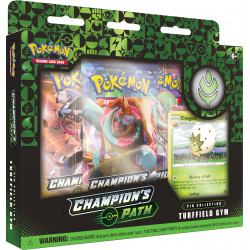Champion's Path September Pin Collection: Turffield Gym - Pokémon TCG