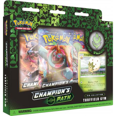Champion's Path September Pin Collection: Turffield Gym - Pokémon TCG