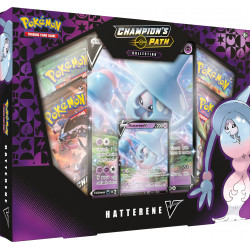 Champion's Path Hatterene V Box - Pokémon TCG