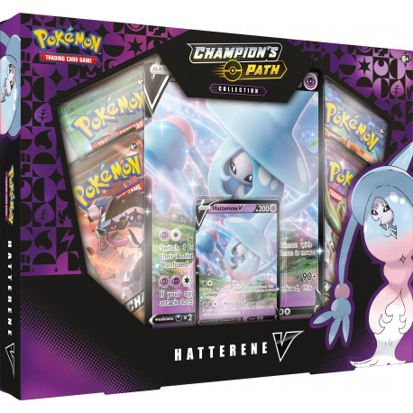 Champion's Path Hatterene V Box - Pokémon TCG