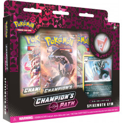 Champion's Path November Pin Collection: Spikemuth Gym - Pokémon TCG