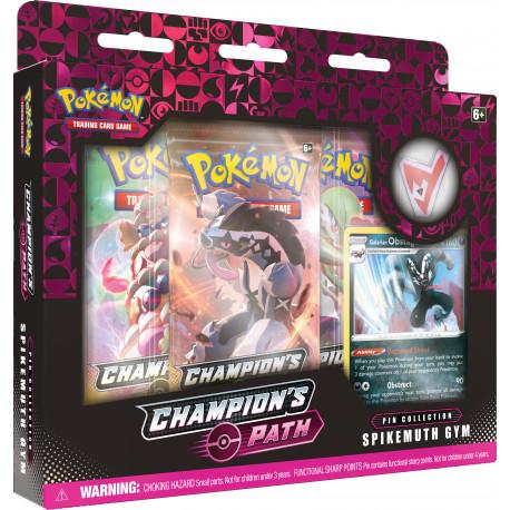 Champion's Path November Pin Collection: Spikemuth Gym - Pokémon TCG